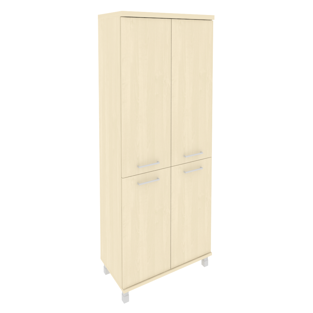Шкаф высокий широкий закрытый 801x432x2060