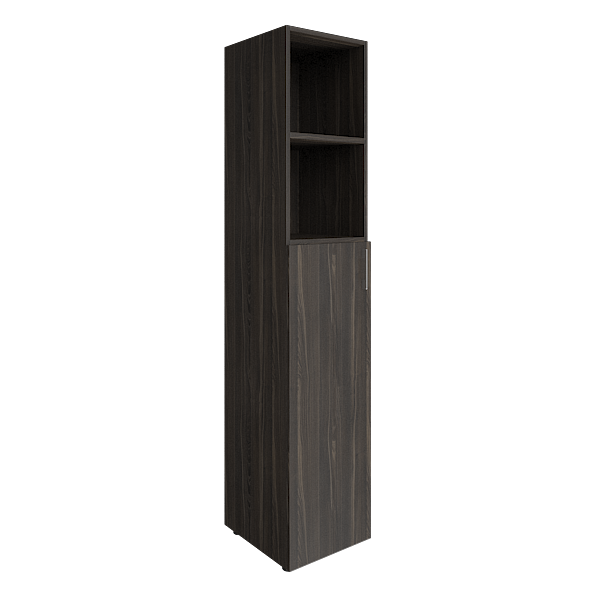 Шкаф высокий узкий комбинированный 400x450x1990