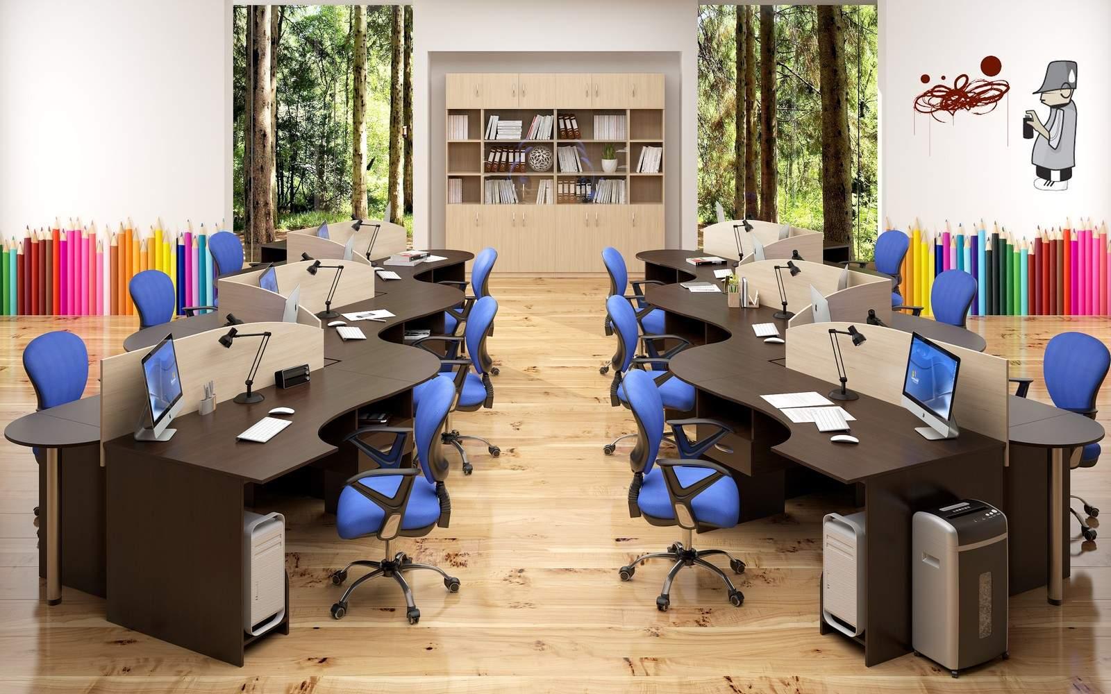 Мебель для сотрудников SIMPLE
