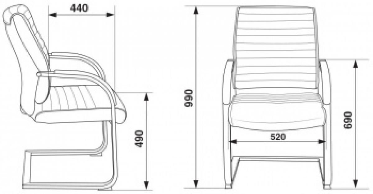 Кресло Бюрократ T-8010-LOW-V/IVORY