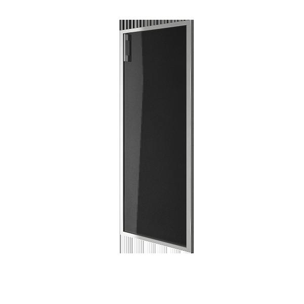 Дверь стеклянная в раме правая 1042x544x22