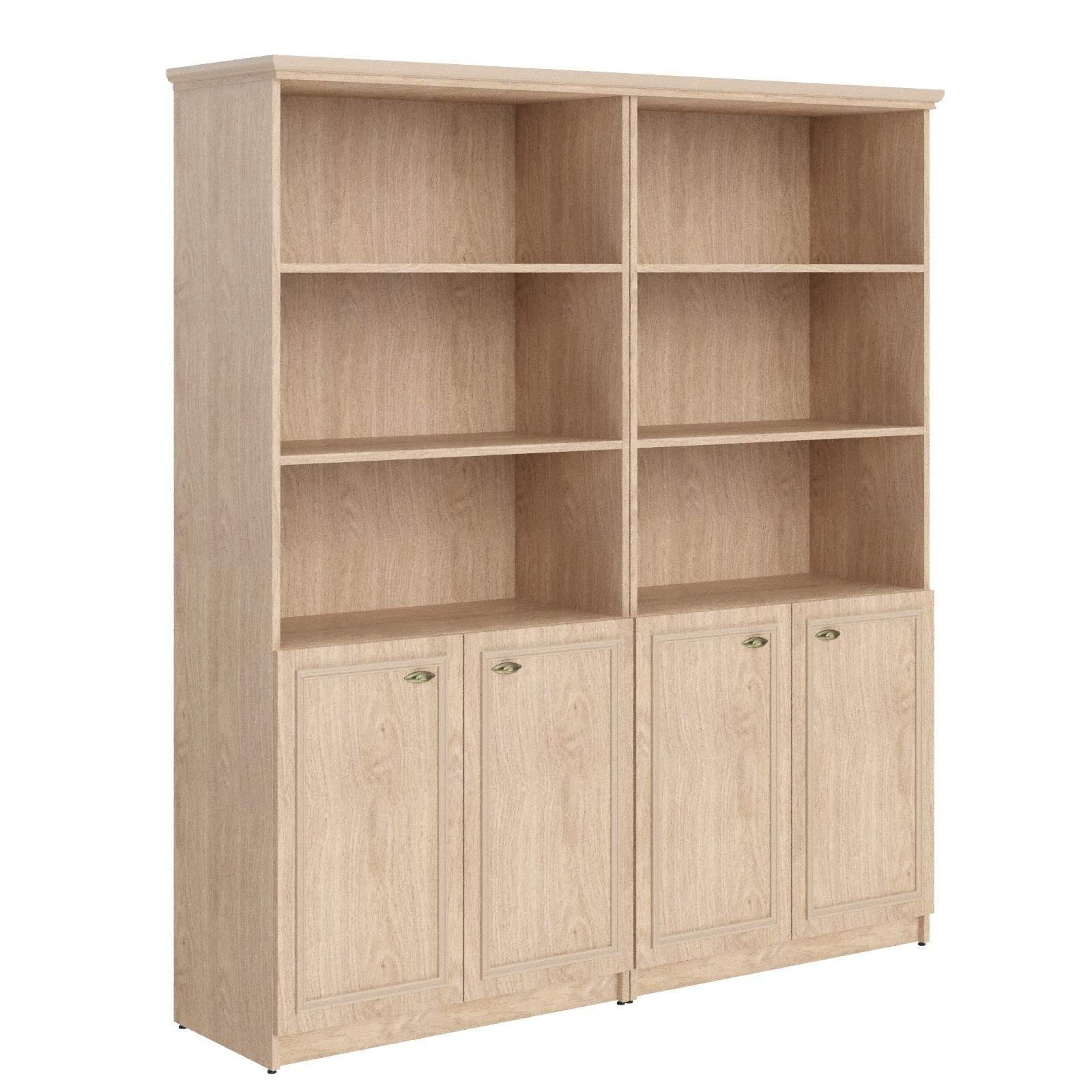 Шкаф двойной полузакрытый 1808x466x2023