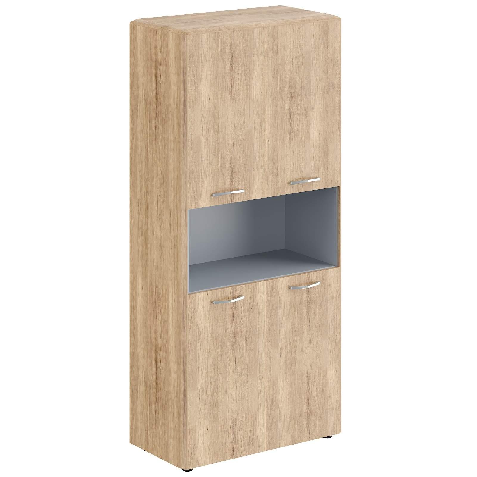 Шкаф полуоткрытый с 4мя дверьми 850x430x1930