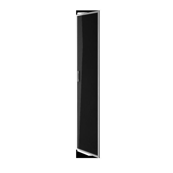 Дверь стеклянная в раме правая 397х1960х22