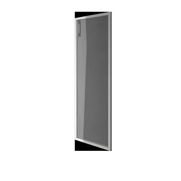 Дверь стеклянная матовая в раме правая 397х1164х22
