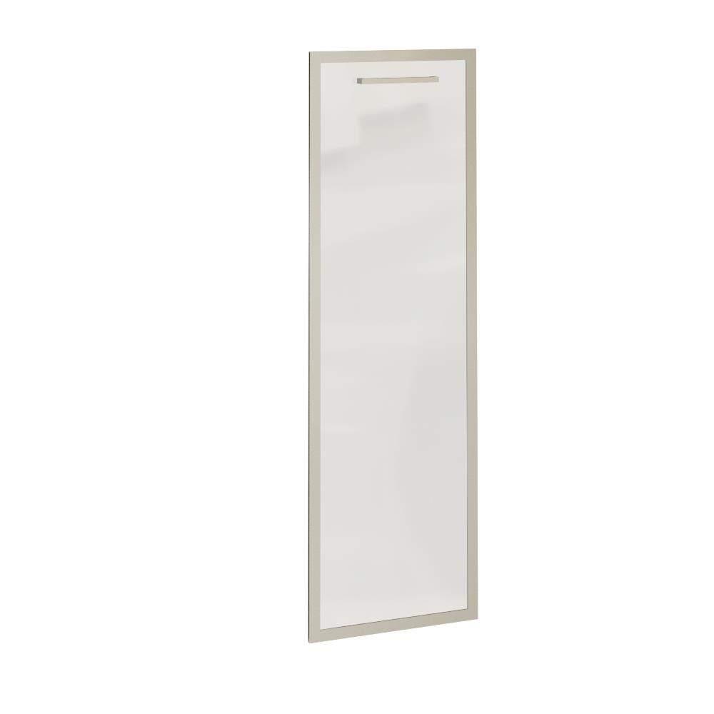 Дверь средняя левая стекло матовое в раме 396x1097x20