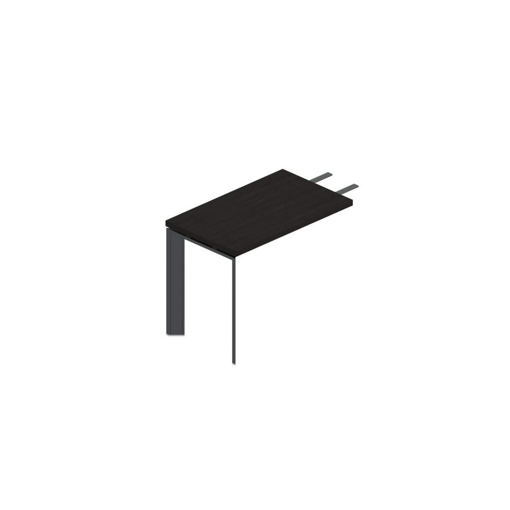 Приставка с черными/белыми опорами 1000x600x770