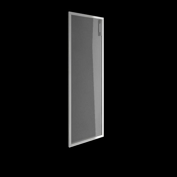 Дверь стеклянная матовая в раме левая 397х1164х22