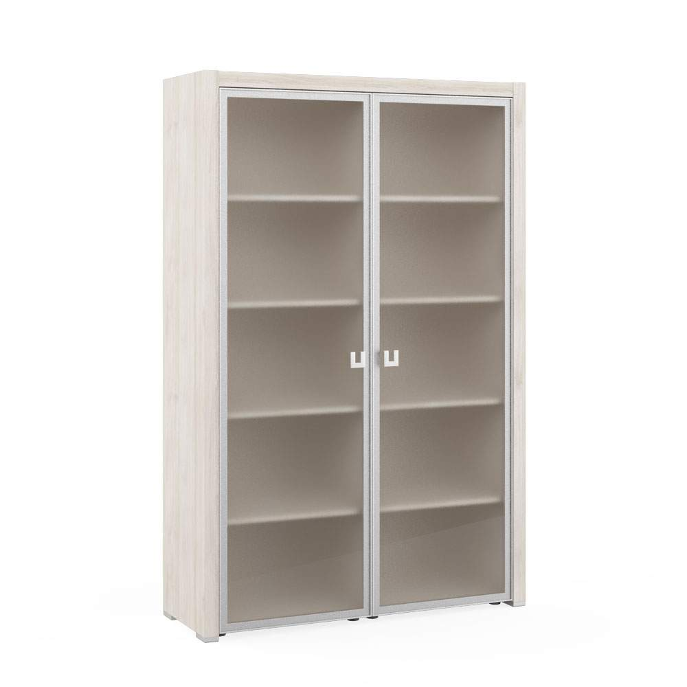 Шкаф для бумаг со стеклом 1310x450x2010