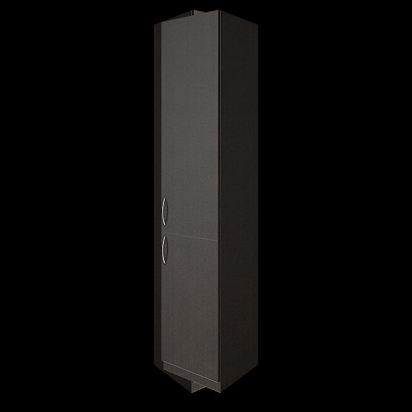 Шкаф высокий узкий правый закрытый 388x359x1914