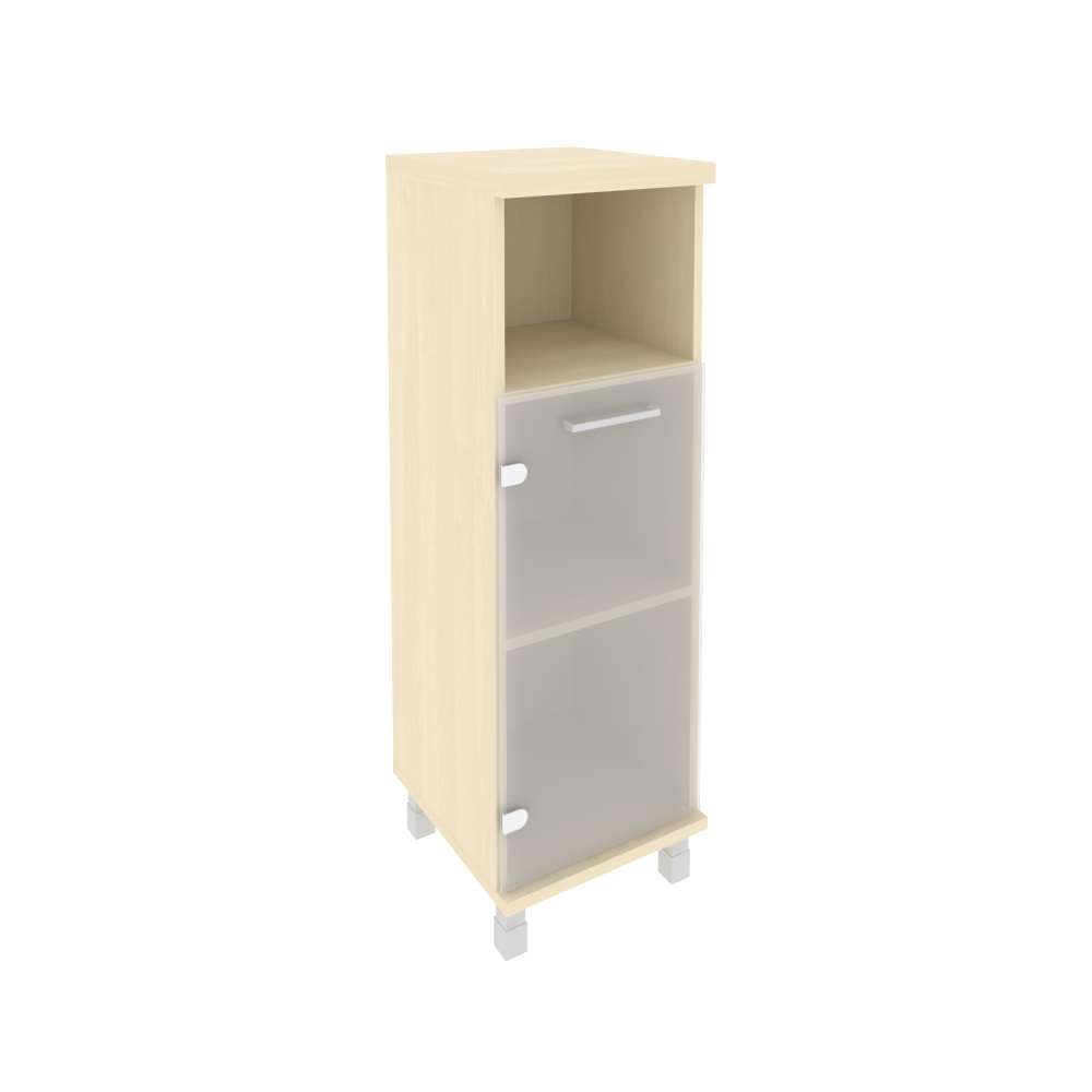 Шкаф средний узкий левый  401x432x2060