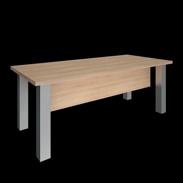 Стол 2000x900x750 на металлических опорах