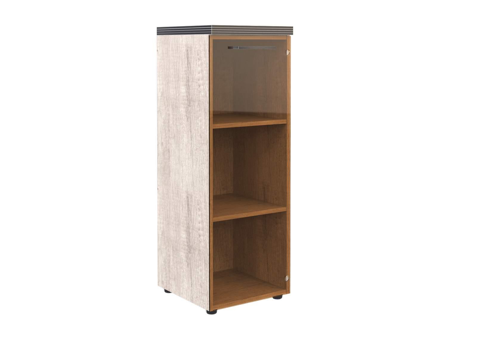 Шкаф низкий со стеклом 450x463x815