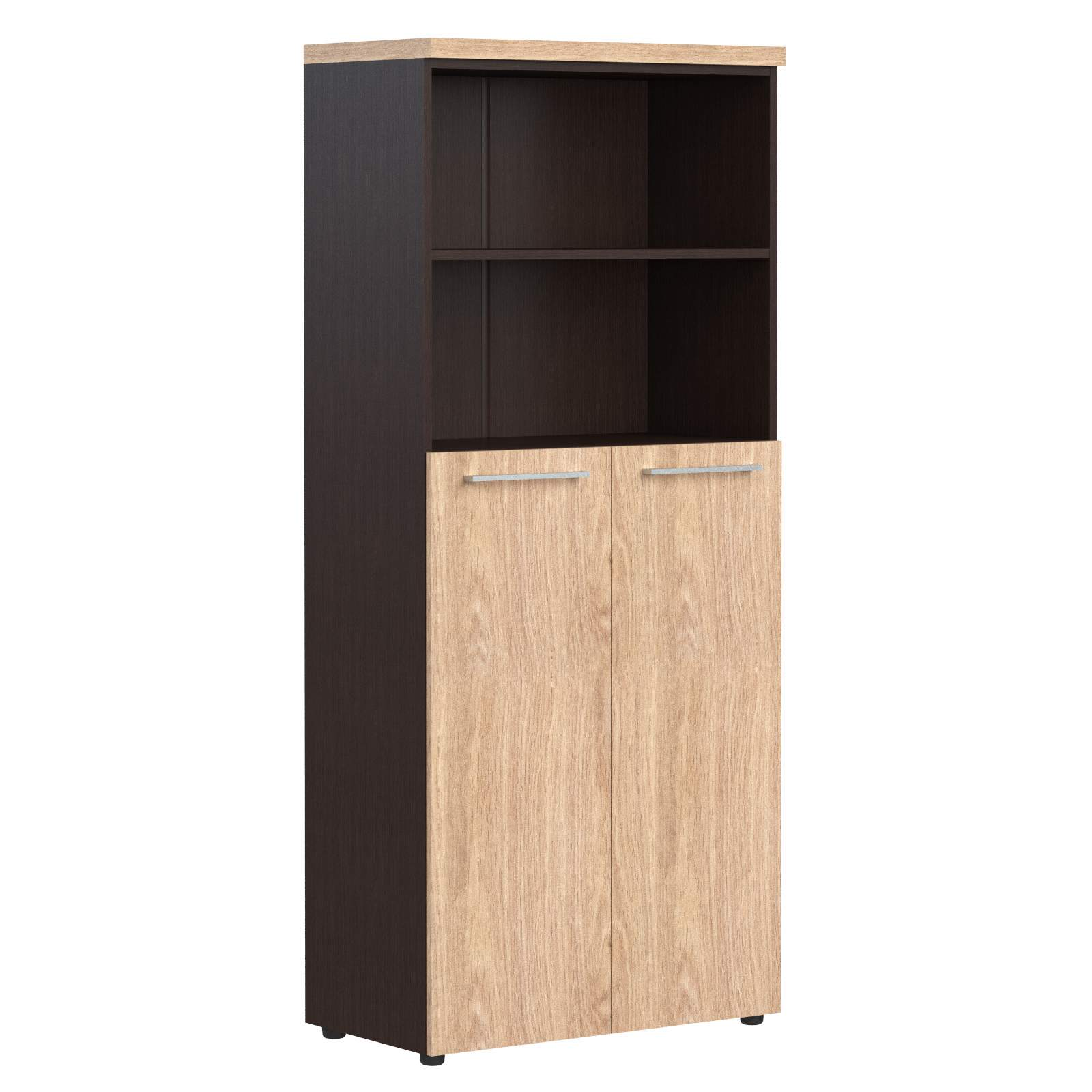 Шкаф полуоткрытый с 2мя дверями 850x430x1930