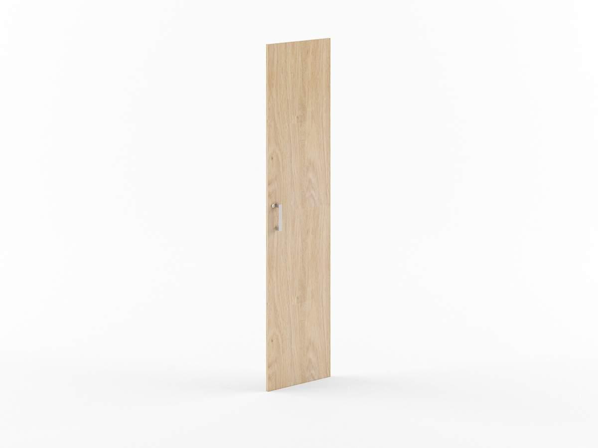 Дверь ЛДСП высокая с замком 422x18x1900