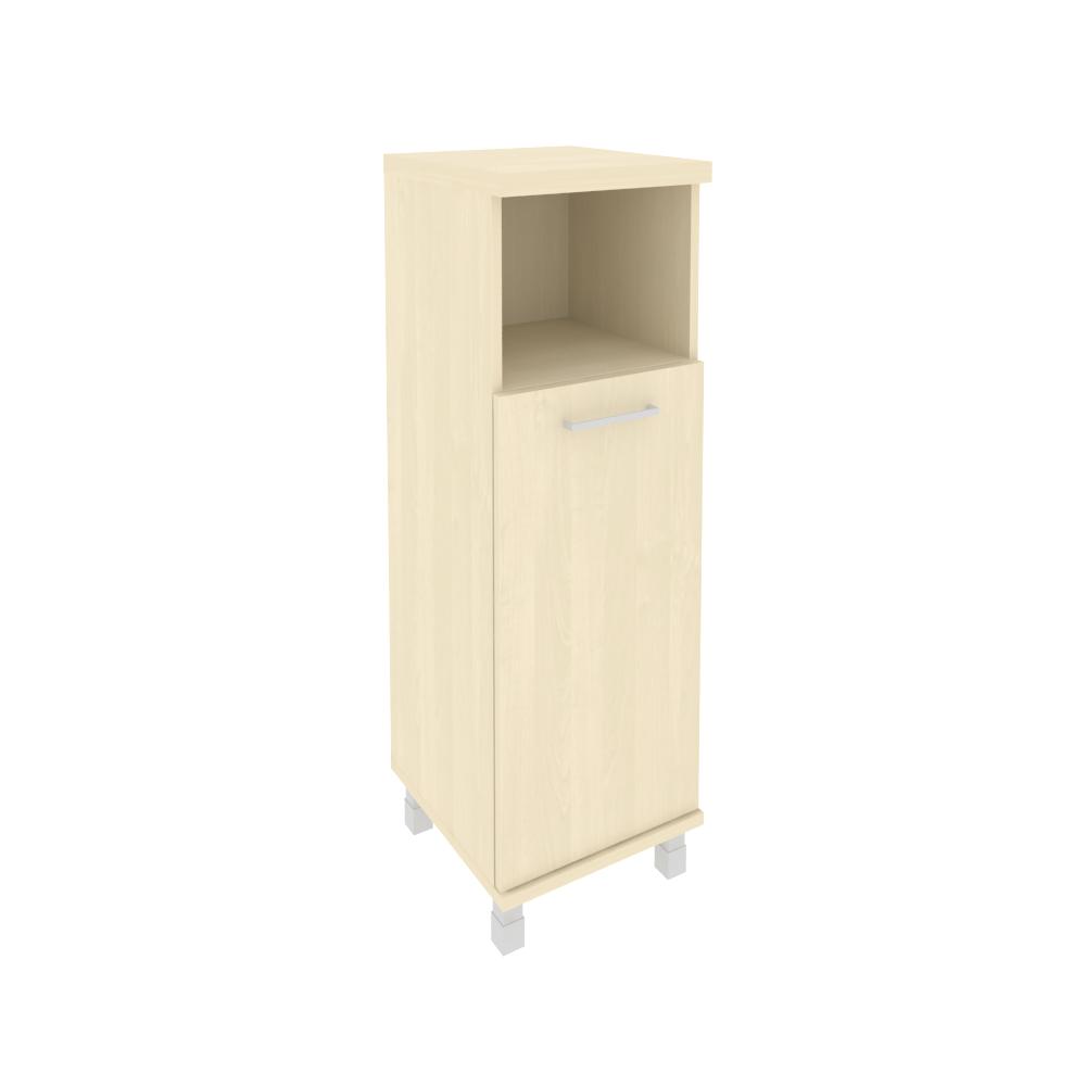 Шкаф средний узкий левый комбинированный 401x432x2060