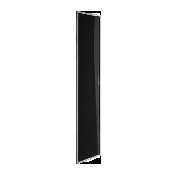 Дверь стеклянная в раме левая 397х1960х22