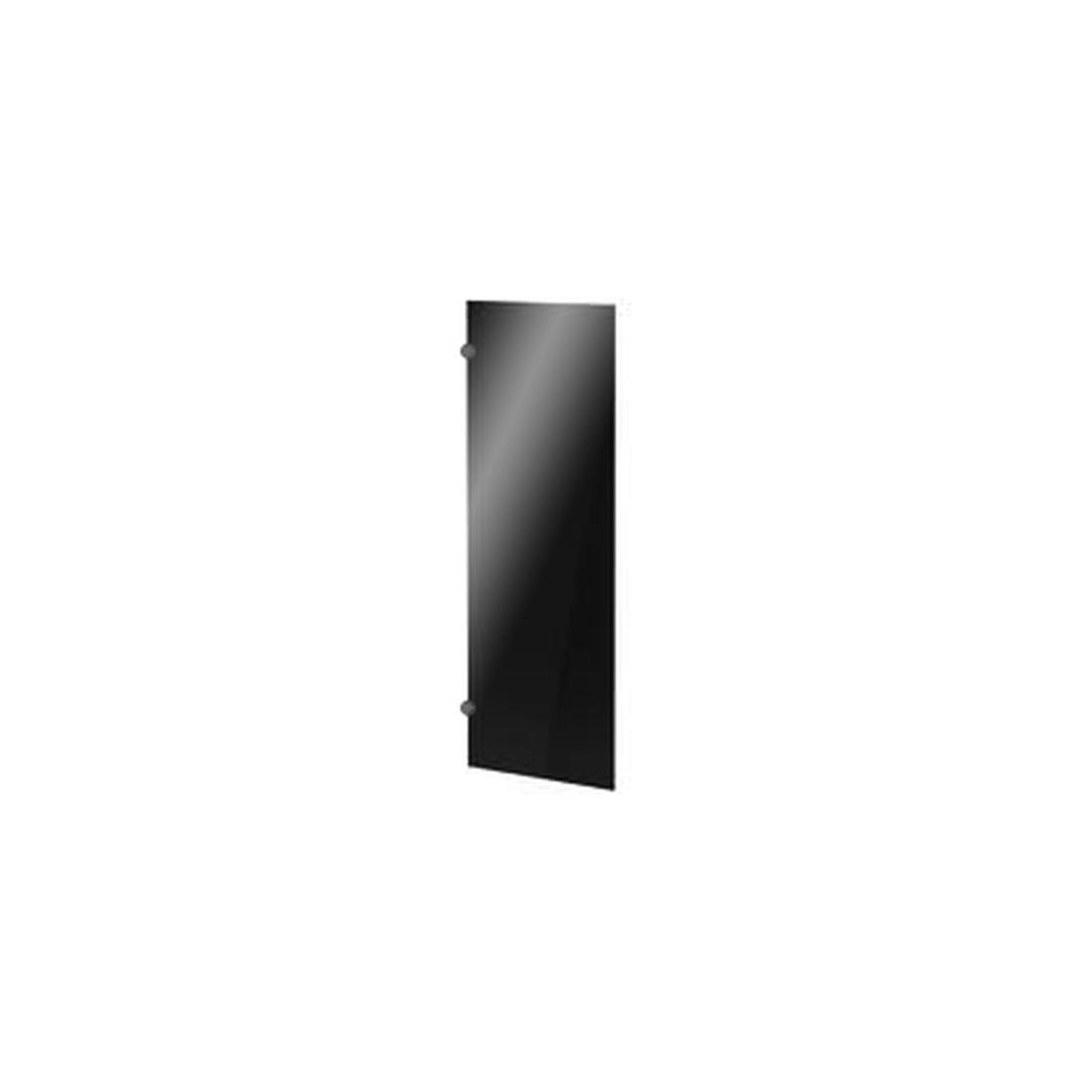 Дверь стеклянная левая 386х5х1150