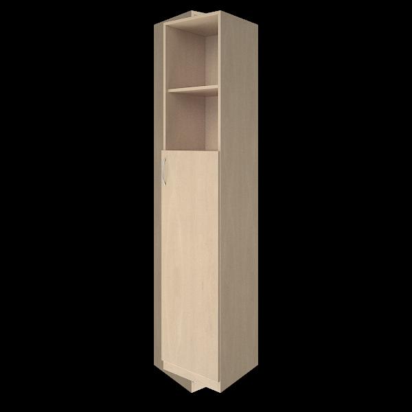 Шкаф высокий узкий правый комбинированный 388x359x1914