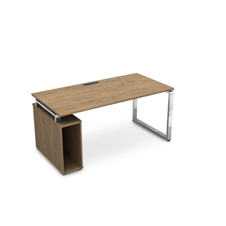 Стол с тумбой под системный блок 1600x800x750