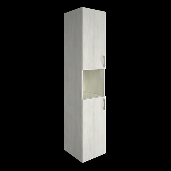 Шкаф высокий узкий левый комбинированный 400x450x1990