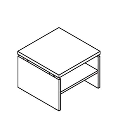 Стол кофейный 600x600x457