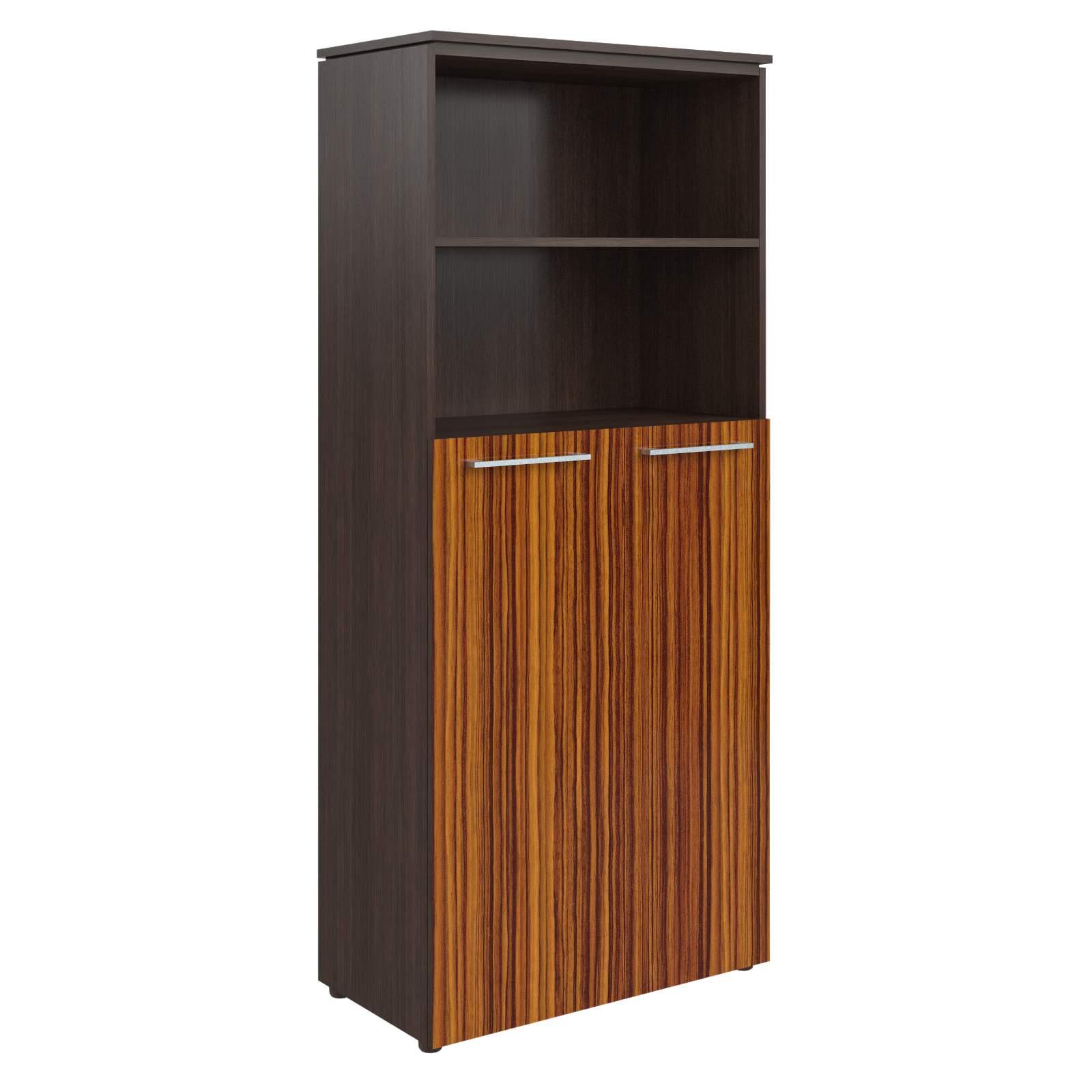 Шкаф полузакрытый с 2мя дверями 854x423x1956