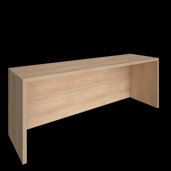 Пристенный стол 2000х550х750