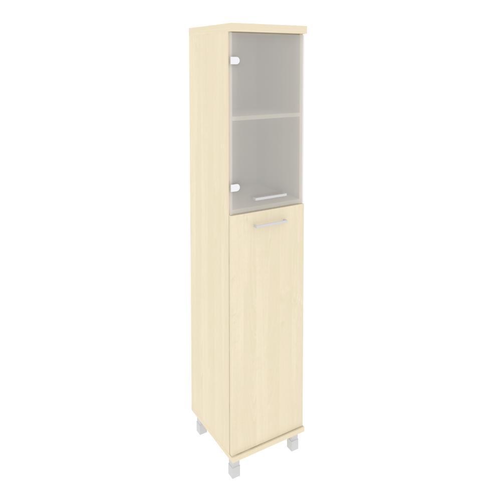 Шкаф высокий узкий левый закрытый 401x432x2060