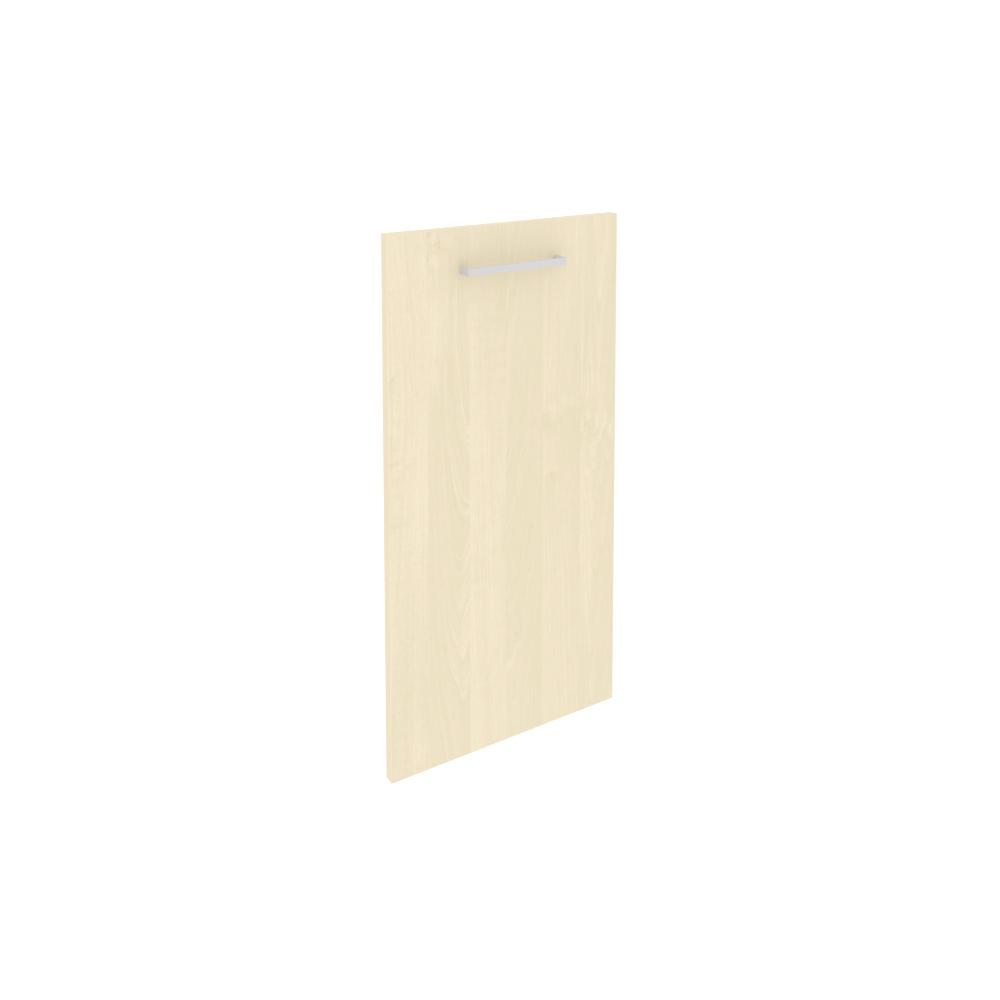 Дверь низкая ЛДСП левая 396x795x18