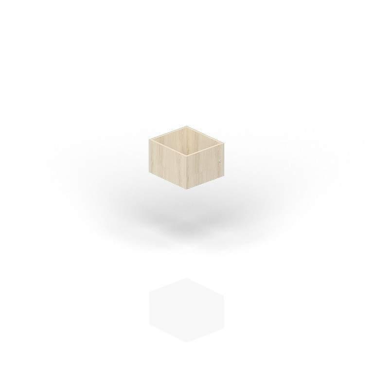 Ящик вкладной (малый) с замком для стеллажа SPBAS 385х432х246