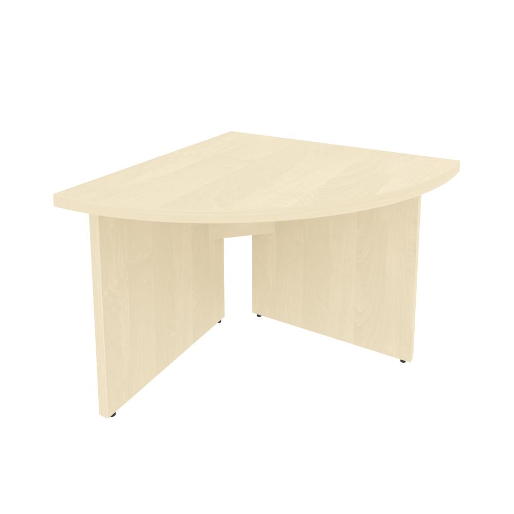 Угловой модуль переговорного стола левый 900х900х765