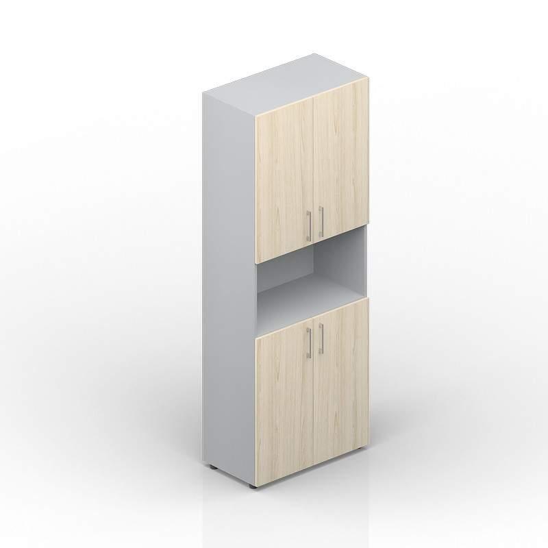 Шкаф высокий с нишей 800х440х1950