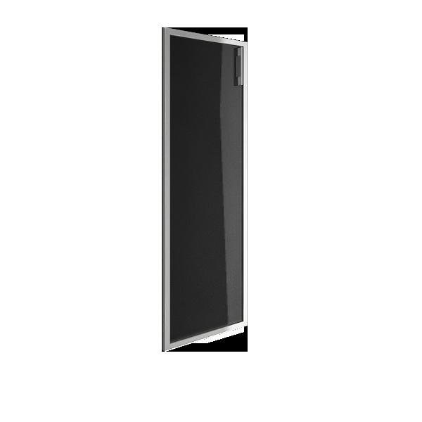 Дверь стеклянная в раме левая 397х1164х22