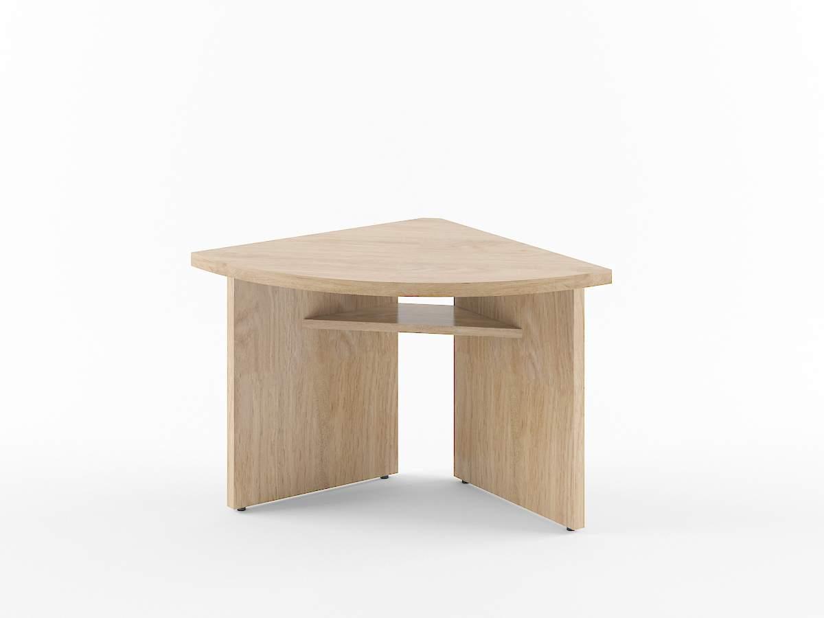 Элемент стола для переговоров угловой 840x840x750