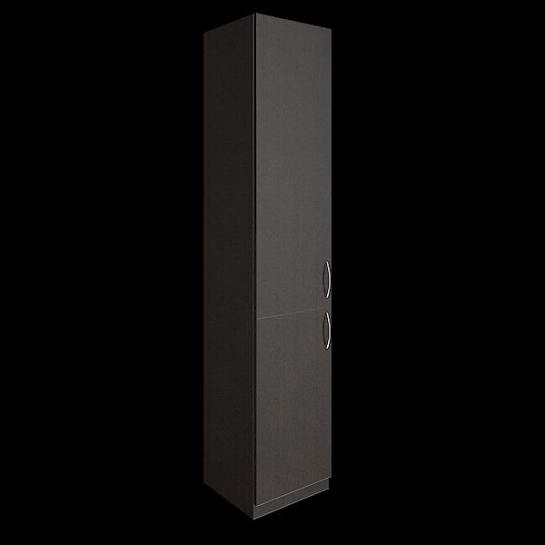 Шкаф высокий узкий левый закрытый 388x359x1914