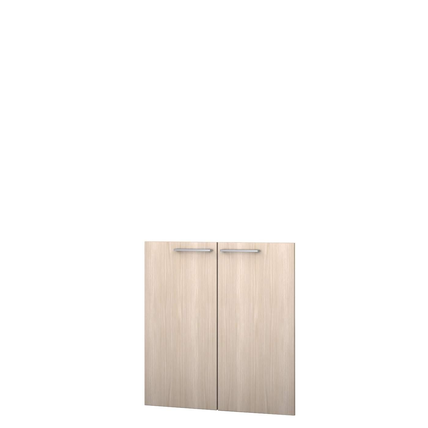 Комплект низких дверей 396х832х16 * 2