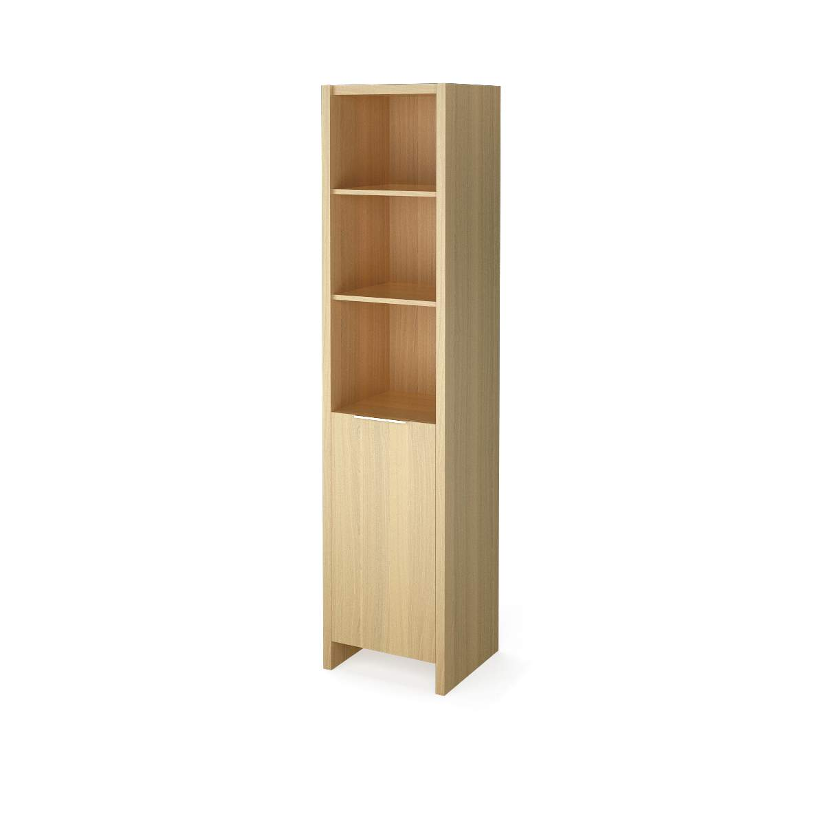 Шкаф узкий полузакрытый 454х438х1970