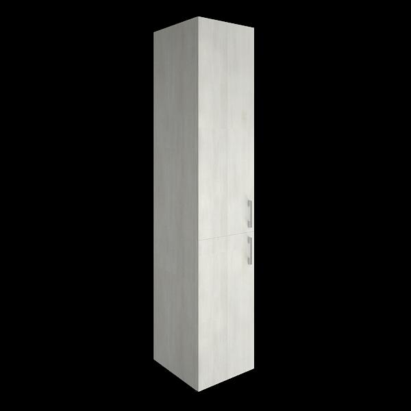 Шкаф высокий узкий закрытый  400x450x1990