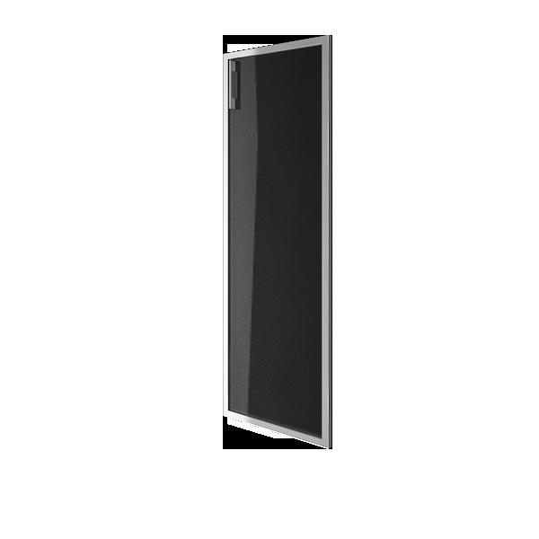 Дверь стеклянная в раме правая 397х1164х22