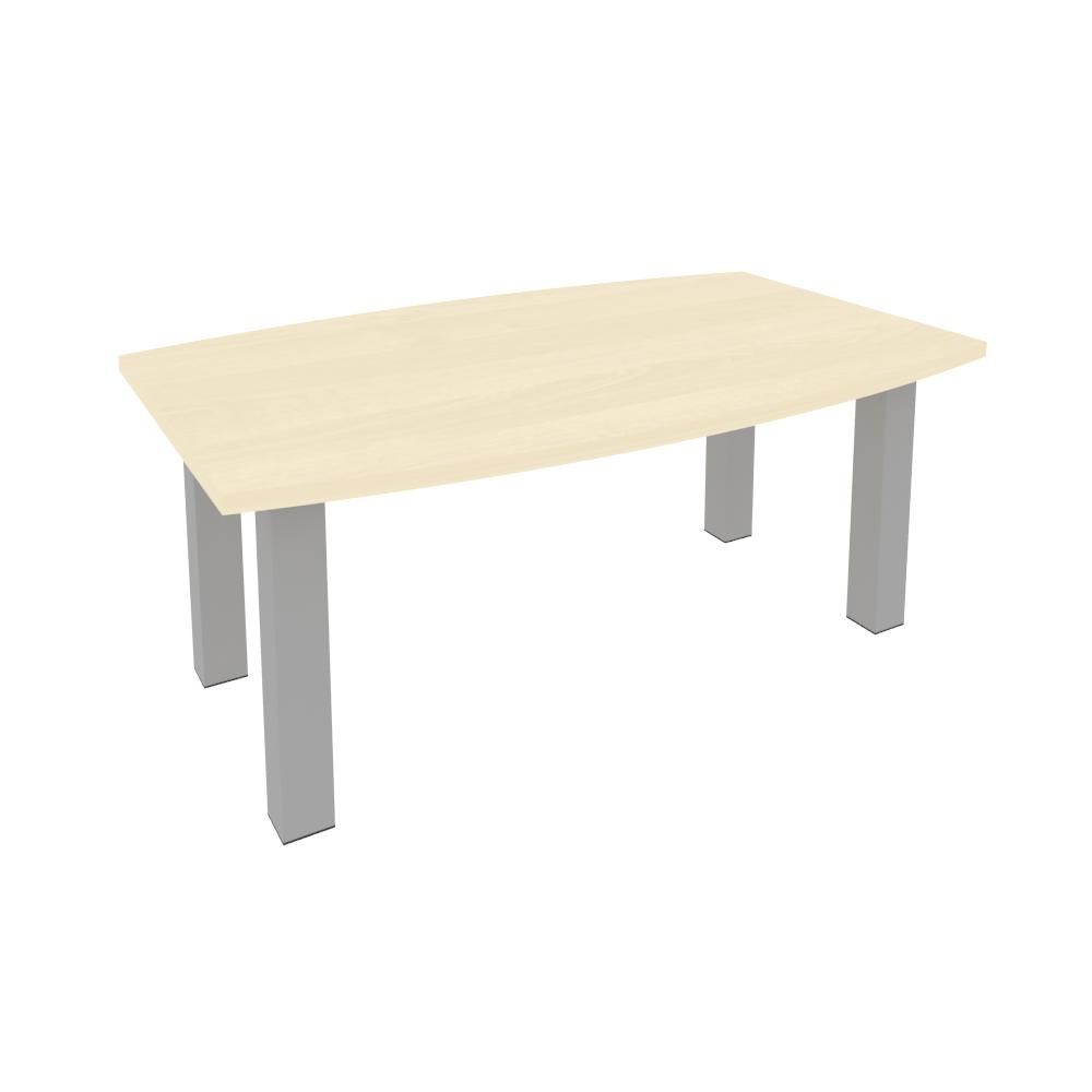 Стол переговорный на металлокаркасе 1800x1100x750