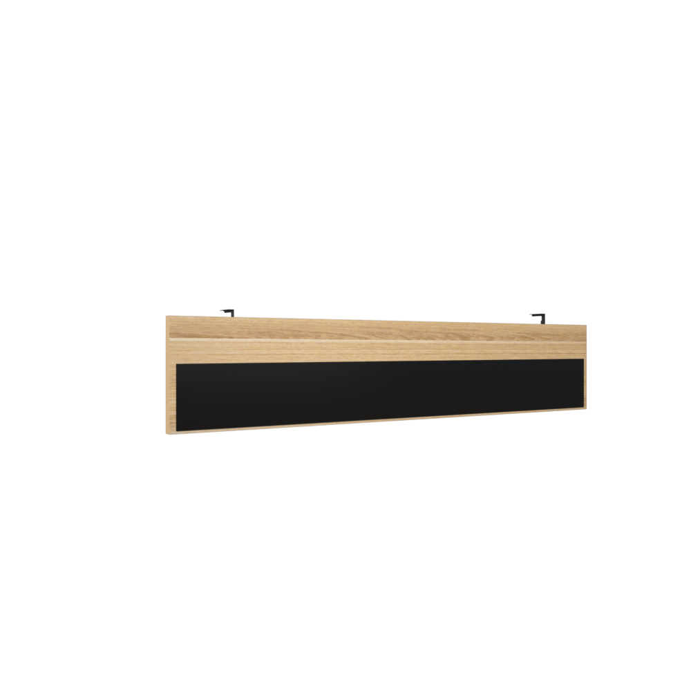 Модести-панель для стола на м/каркасе 1568x16x350