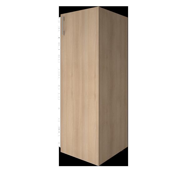 Стеллаж средний узкий закрытый правый 400x450x1195