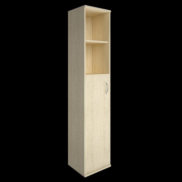 Шкаф высокий узкий левый полуоткрытый с 1 дверцей 412х410х1980