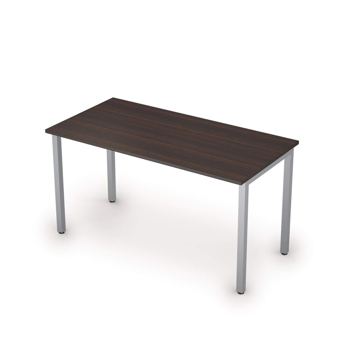 Столы на металлических опорах без экрана  1400х700х750