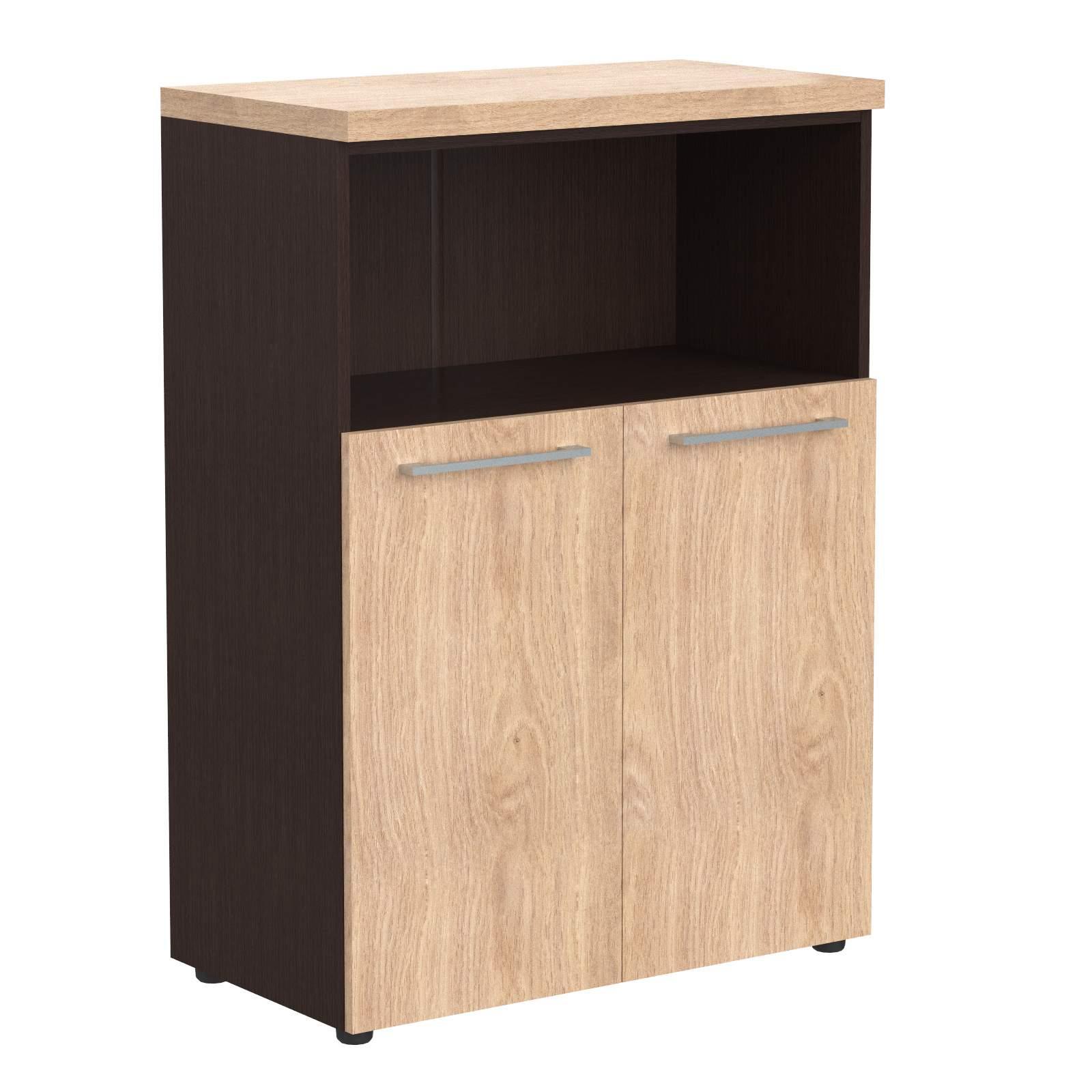 Шкаф средний полуоткрытый 850х430х1165
