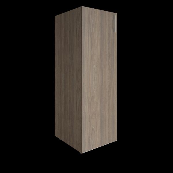 Стеллаж средний узкий закрытый левый 400x450x1195
