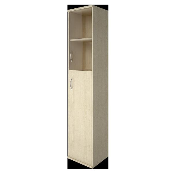 Шкаф высокий узкий правый закрытый 403x365x1975