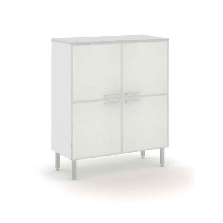 DADO Шкаф 4 стеклянные двери 1000x440x1220