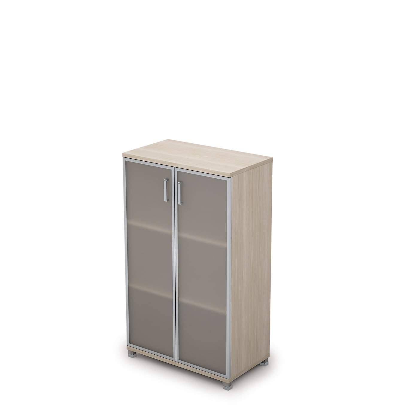 Шкаф средний со стеклом 800x450x1348